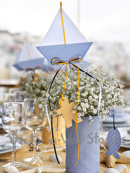 Navy style at Yacht Club of Greece